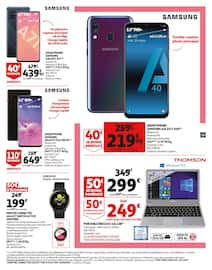 Catalogue Auchan en cours, Nos collaborateurs sont toujours mobilisés pour vous, Page 33