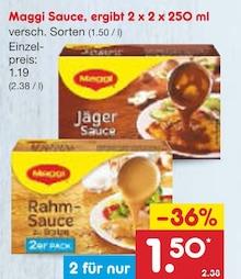 Lebensmittel von Maggi im aktuellen Netto Marken-Discount Prospekt für 1.5€