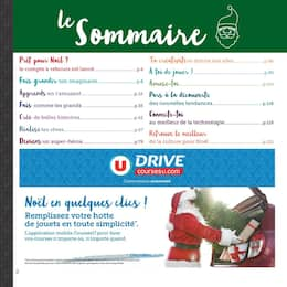 Catalogue Hyper U en cours, Ouvre grand les yeux le Père Noël arrive, Page 2