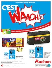 Catalogue Auchan en cours, C'est WAAOH !!!, Page 1