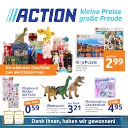 Aktueller Action Prospekt, Kleine Preise, große Freude , Seite 1