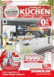 Aktueller Segmüller Prospekt, Segmüller - Küchen, Seite 1