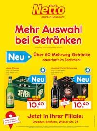 Aktueller Netto Marken-Discount Prospekt, Mehr Auswahl  bei Getränken, Seite 1