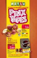 Catalogue Supermarchés Match en cours, Prix tapés, Page 1