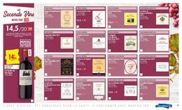Catalogue Carrefour en cours, La seule foire aux vins notée par la revue du vin de France, Page 27