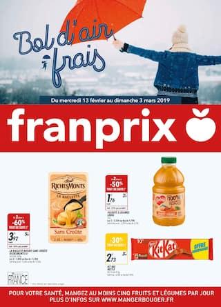 Catalogue Franprix en cours, Bol d'air frais, Page 1