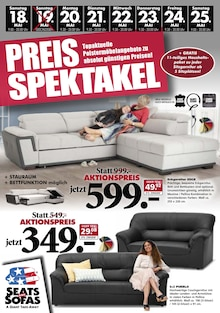 Seats and Sofas - Preisspektakel