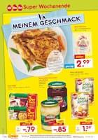 Aktueller Netto Marken-Discount Prospekt, Super Wochenende - OSTERN GANZ NACH MEINEM GESCHMACK, Seite 1