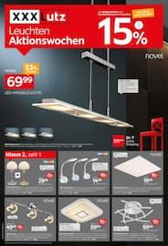 Aktueller XXXLutz Möbelhäuser Prospekt, Leuchten Aktionswochen, Seite 1