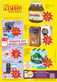 Aktueller Netto Marken-Discount Prospekt, Günstig gut gehen lassen, Seite 1