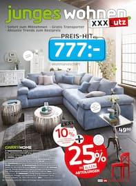 Aktueller XXXLutz Möbelhäuser Prospekt, junges wohnen, Seite 1