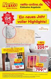 Aktueller Netto Marken-Discount Prospekt, Ein neues Jahr voller Highlights!, Seite 1