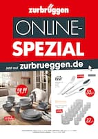 Aktueller Zurbrüggen Prospekt, ONLINE-SPEZIAL!, Seite 1
