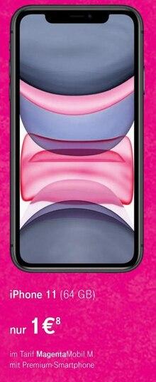 Elektronik von Apple im aktuellen Telekom Shop Prospekt für 1€