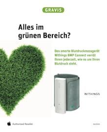 Aktueller GRAVIS Prospekt, Alles im grünen Bereich?, Seite 1