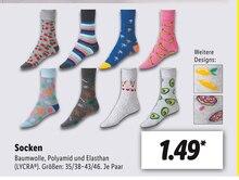 Socken Angebot: Im aktuellen Prospekt bei Lidl in Schwedt (Oder)