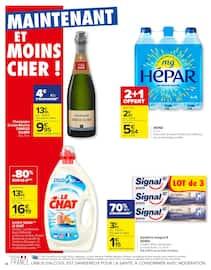 Catalogue Carrefour en cours, Des promos gourmandes pour Noël, Page 38