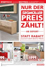 Aktueller Segmüller Prospekt, Segmüller - Küchen, Seite 7
