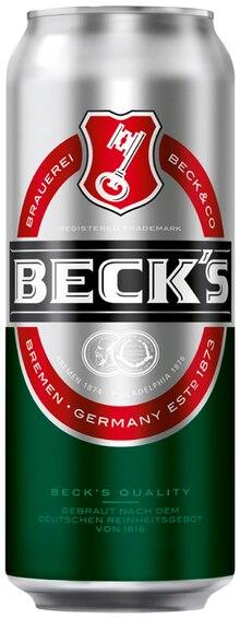Bier von Beck's im aktuellen REWE Prospekt für 0.69€
