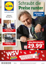Lidl, WSV - Schraubt die Preise runter für Berlin