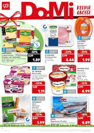 Aktueller Kaufland Prospekt, Essen ist Liebe, Seite 2
