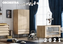 """Orchestra Catalogue """"Collection 2021 """", 77 pages, Passy,  31/12/2020 - 31/12/2021"""