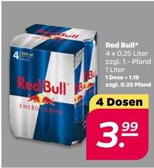 Red Bull von Red Bull im aktuellen NETTO mit dem Scottie Prospekt für 3.99€