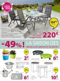 Catalogue Jysk en cours, Un vent de printemps sur les prix ! , Page 4