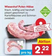 Lebensmittel von Wiesenhof im aktuellen Netto Marken-Discount Prospekt für 2.22€