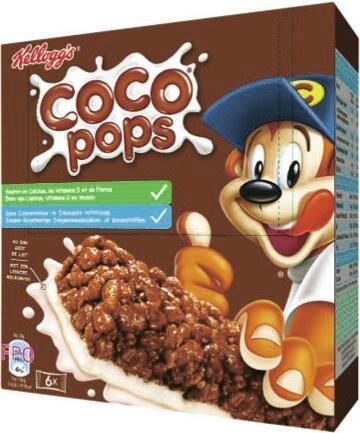 Barres céréales Coco Pops