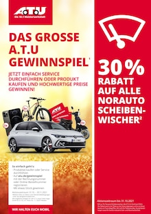A.T.U Auto Teile Unger Prospekt für Lengerich, Westf: DAS GROSSE A.T.U GEWINNSPIEL, 24 Seiten, 30.9.2021 - 31.10.2021