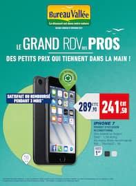 Catalogue Bureau Vallée en cours, Le grand RDV des pros : des petits prix qui tiennent dans la main !, Page 1