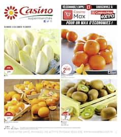 Catalogue Casino Supermarchés en cours, Casino Supermarchés, Page 1