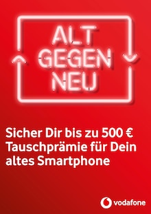 Vodafone, ALT GEGEN NEU  für Neubrandenburg