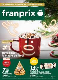 Catalogue Franprix en cours, Réveillons la magie de Noël, Page 1