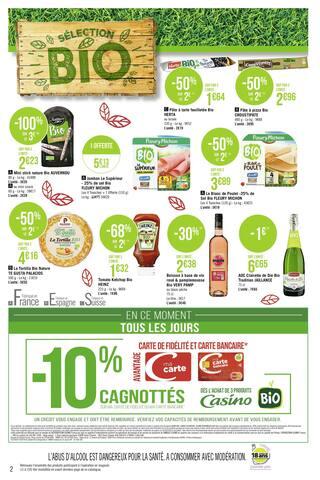 Catalogue Casino Supermarchés en cours, Direction la rentrée… Par ici les promos !, Page 2