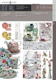 Catalogue Maison à Vivre en cours, Côté déco, Page 3