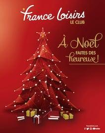 Catalogue France Loisirs en cours, À Noël, faites des heureux, Page 1