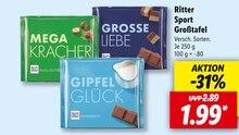 Lebensmittel von Ritter Sport im aktuellen Lidl Prospekt für 1.99€