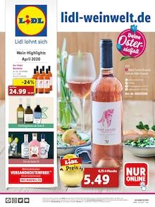 Lidl Prospekt Wein-Highlights April 2020