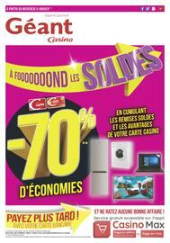 Catalogue Géant Casino en cours, À fond les promos !, Page 1