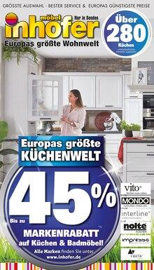 Möbel Inhofer - Europas größte Küchenwelt