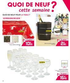 Catalogue Gifi en cours, Les magifiques tables de Noël, Page 28