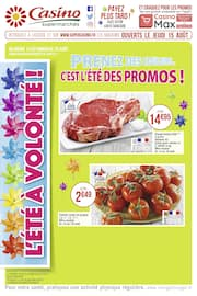 Catalogue Casino Supermarchés en cours, Prenez des couleurs… C'est l'été des promos !, Page 1