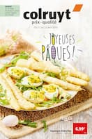 Catalogue Colruyt en cours, Joyeuses Pâques !, Page 1