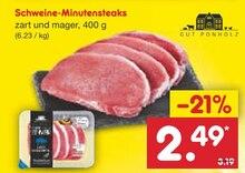 Lebensmittel von Gut Ponholz im aktuellen Netto Marken-Discount Prospekt für 2.49€