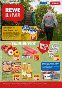 REWE, GEMEINSAM FÜR DEINE REGION für Rostock