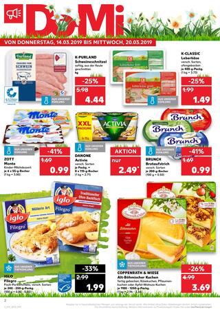Aktueller Kaufland Prospekt, Bella Italia., Seite 2