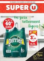 Catalogue Super U en cours, Vos prix tellement légers !, Page 1