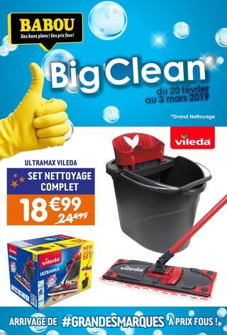 Catalogue Babou en cours, Big Clean, Page 1